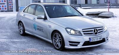 Michelin Pilot Alpin y Latitude Alpin, a prueba en la Experiencia 4MATIC de Mercedes