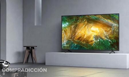 A este precio, una smart TV como la Sony KE65XH8096BAEP de 65 pulgadas es todo un chollazo: MediaMarkt te la deja en 743 euros con 185 de rebaja
