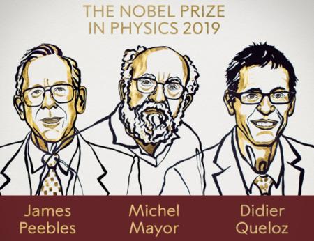 La evolución del universo y el descubrimiento del primero de los exoplanetas se llevan el premio Nobel de Física 2019