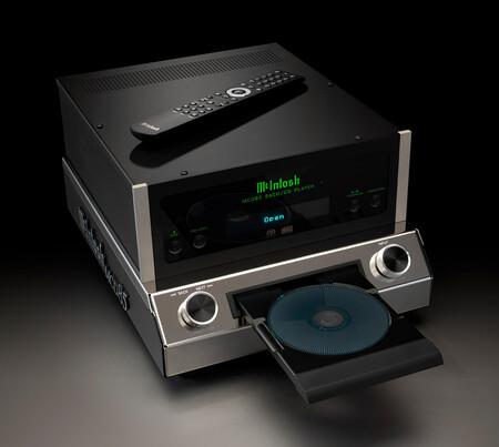 McIntosh quiere revitalizar los formatos SACD/CD con el MCD85, un extravagante lector con el que reproducir tu colección de compactos