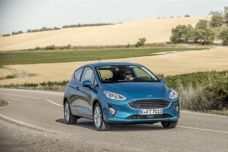 Ford Fiesta 2017, prueba contacto