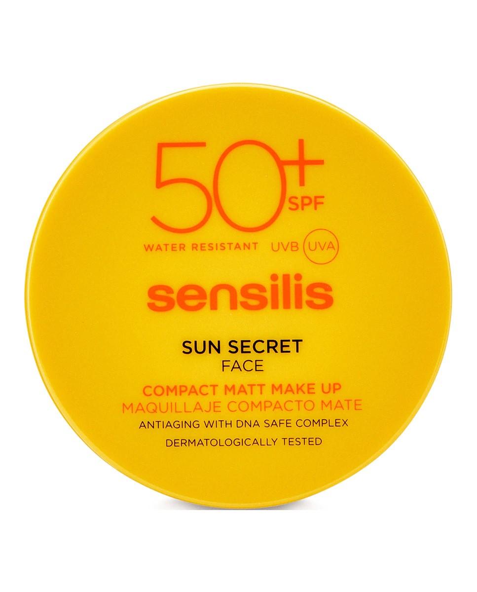Maquillaje Compacto Sun Secret SPF 50+ Sensilis