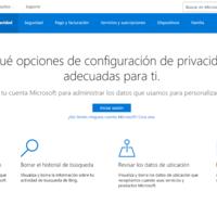 Microsoft lanza un portal de privacidad online para permitirte gestionar lo que sabe de ti