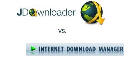 Internet Download Manager contra JDownloader