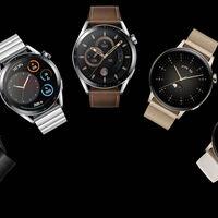 El Huawei Watch GT 3 es oficial: tamaños de 42 y 46 milímetros, AMOLED, sensor SpO2 y soporte para más de 100 ejercicios