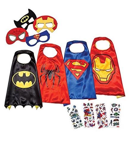 ¿Los peques siguen sin disfraz? Set de capas y máscaras de superhéroes por 15,72 euros