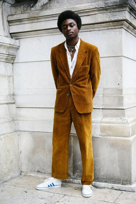 El Mejor Stret Style De La Semana Se Viste De Pana En Sus Looks De Transicion Al Otono 08