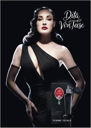 El primer perfume de Dita Von Teese lleva su nombre