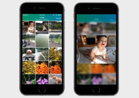 Lively, la app que permite exprimir a tope las Live Photos