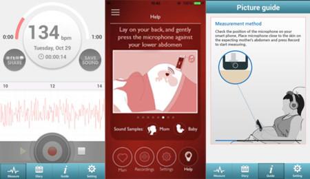 Apps de medición de pulsaciones del bebé