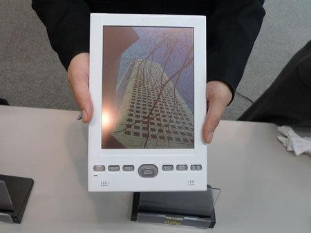 Fujitsu FLEPia, primer libro electrónico táctil y a color