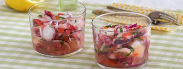 Ensalada cítrica de pulpo: receta saludable y refrescante perfecta para el verano