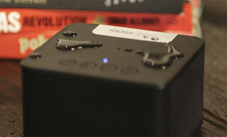 Mass Fidelity raD, un altavoz inalámbrico para entornos húmedos y con dispersión radial del sonido
