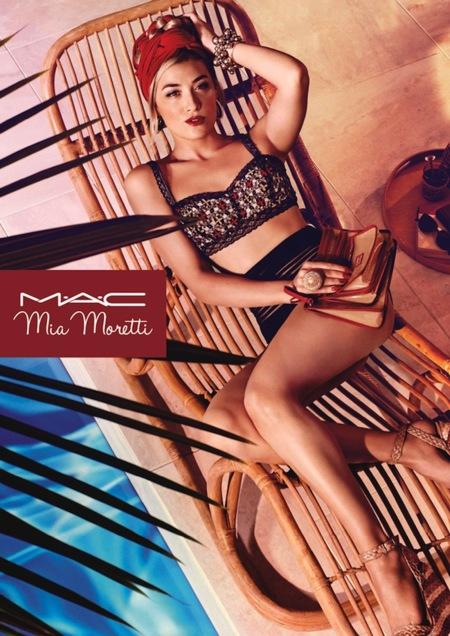 MAC no descansa jamás, y ahora nos presenta una nueva colección junto a Mia Moretti