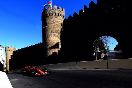 Vettel Baku Formula 1 2019