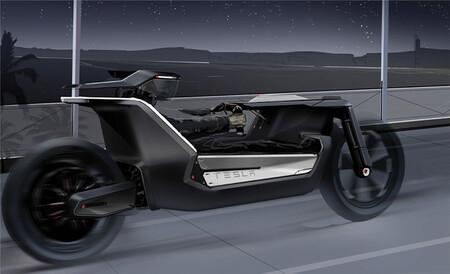 Tesla Moto Electrica Concepto