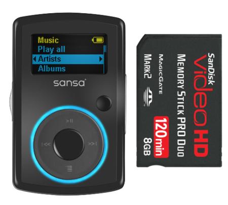 Nuevas tarjetas, discos SSD y novedades de Sandisk [CES 2008]