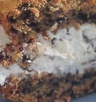 Tarta con pan de centeno