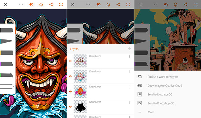 Adobe brings new applications for Android Draw and Illustrator ...