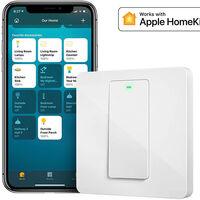 """Amplía el ecosistema HomeKit con este interruptor """"inteligente"""" de pared Wi-Fi, muy barato en Amazon por 12,90 euros"""