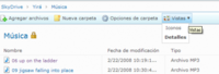 Novedades en Windows Live SkyDrive