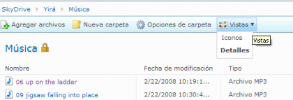 Novedades en Windows Live SkyDrive