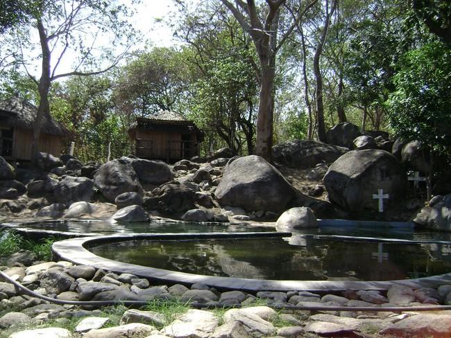 Las aguas termales  de Atotonilco, Oaxaca, se secaron tras el último sismo sufrido en México
