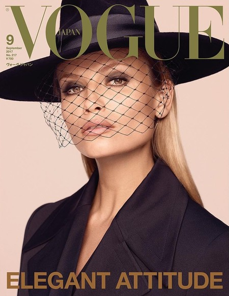 Natasha Poly Vogue Japan September 2017 Cover