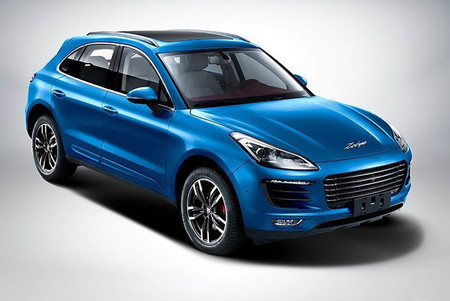 Zotye SR9 copia china de Porsche Macan
