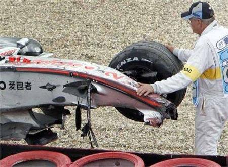 La culpa del accidente de Lewis Hamilton la tuvo la llanta