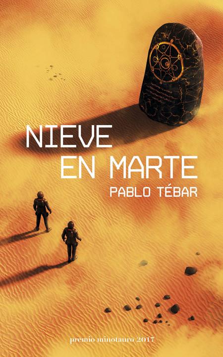 Portada Nieve En Marte Pablo Tebar Goyanes 201709121110