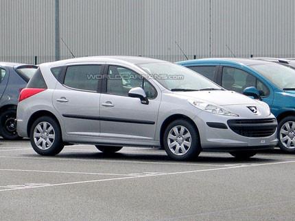 Peugeot 207 SW, nuevas fotos sin camuflaje