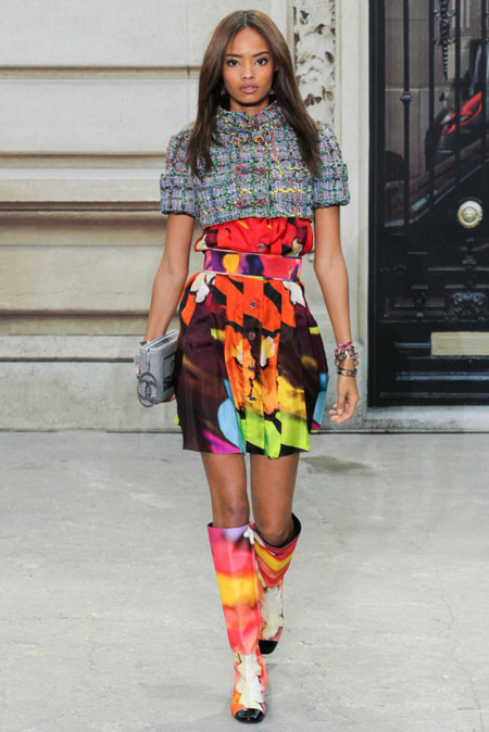 Malaika Firth Chanel