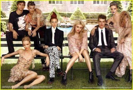 Miranda Kerr, Hayden Christensen o Dakota Fanning entre otros, juntos para la revista Vogue