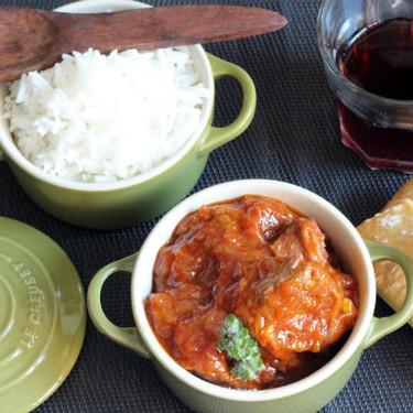 Guiso de tacos de morcillo en tomate, la carne más tierna y sabrosa para una comida familiar