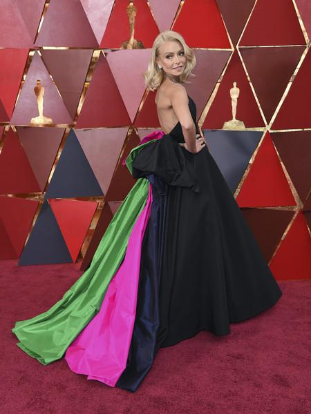 Kelly Ripa Christian Siriano Oscar 2018