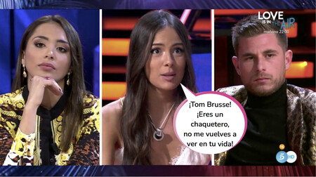 Montaje en 'El Debate de las Tentaciones': Melyssa acusa a Tom y a Sandra de estar utilizándola para seguir apareciendo en televisión