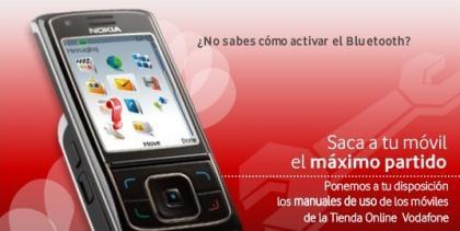 Vodafone ofrece manuales para sacar partido al móvil