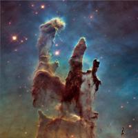 Los pilares de la creación lucen como nunca antes