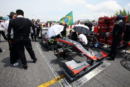 Hispania F1 Racing Team a Pedro de la Rosa: Enséñame la pasta