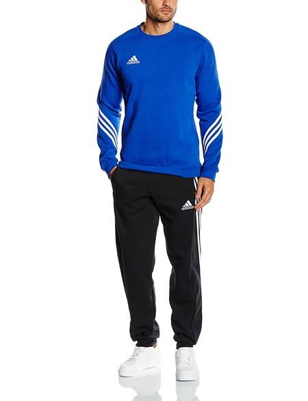 Podemos hacernos con un chándal Adidas SERE14 SWT Suit en azul y negro desde 32,88 euros en Amazon