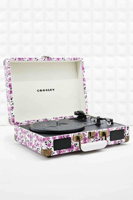 Tocadiscos Flores Urban Outfitters