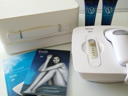 Probamos el Sistema de Fotodepilación de Luz Pulsada Venus Naked Skin®: primeras impresiones