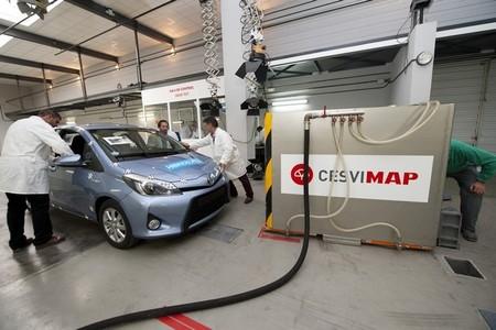 Crash Test en Cesvimap