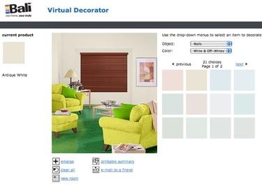 Bali, un decorador virtual con muchas opciones