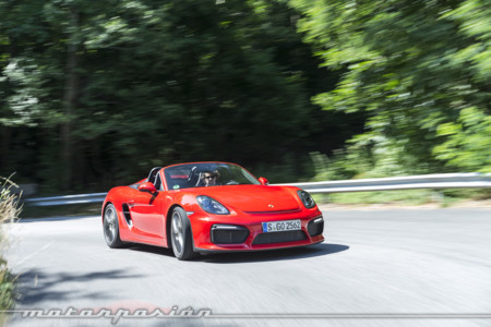 Porsche Boxster Spyder Toma Contacto 4