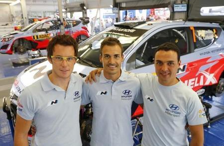 Bryan Bouffier y Hayden Paddon se turnarán el tercer Hyundai en Alsacia y España