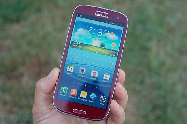 Samsung Galaxy SIII Garnet Red