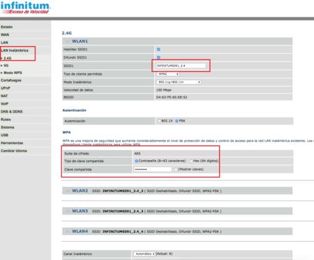 Cambiar Nombre Contrasena Wi Fi Telmex