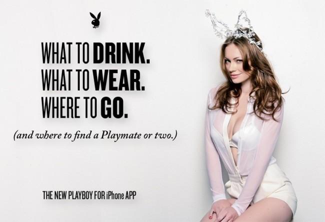 Playboy lanza una app para iOS pero sólo para leer sus artículos... sí, en serio